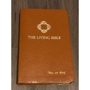 The Living Bible Red Letter Concordance Tyndal